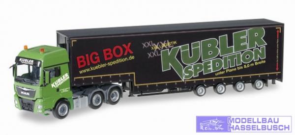 "MAN TGX XXL 6x2 Meusburger-Sattelzug ""Kübler Big Box"""