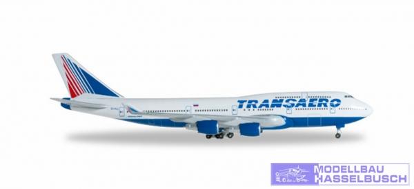 B747-400 Transaero Airlines