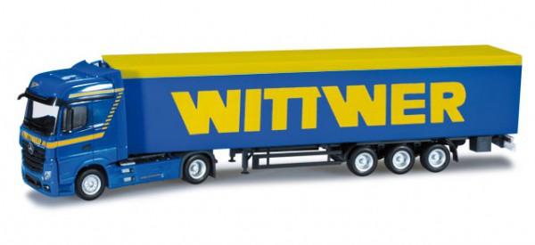 "Mercedes-Benz Actros Bigspace Schubboden-Sattelzug ""Wittwer"""