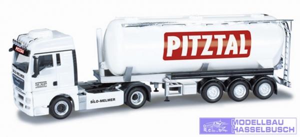 """MAN TGX XLX Silo-Sattelzug """"Melmer / PITZTAL.com"""" (A)"""