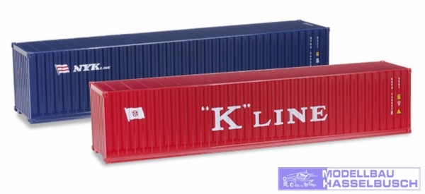 "Container-Set 2x40ft.""K-Line/N"