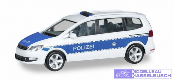 VW Sharan, Bundespolizei