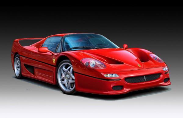 Revell Ferrari F 50 Coupé