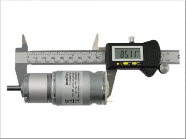 GM32U370 Planetengetriebemotor 7,2 V 370 U/min