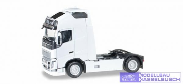 Volvo FH 16 Gl. XL Zugmaschine mit zwei Lampenbügeln, weiß