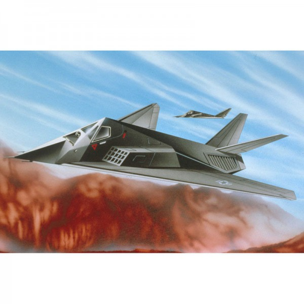 Revell F-117A Stealth Fighter Model Set
