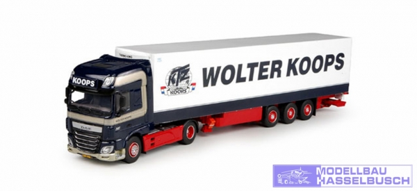 """DAF XF o 6 SSC Kühlkoffer-Sattelzug """"Wolter Koops"""""""