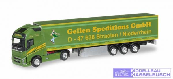 """Volvo FH GL XL Kühlkoffer-Sattelzug """"Gellen Speditions GmbH"""""""