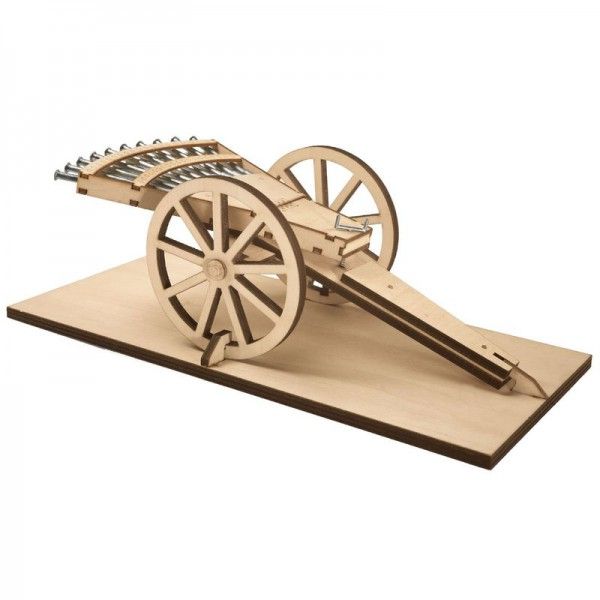 Revell Mehrfachgeschütz - Leonardo da Vinco Holzbausatz