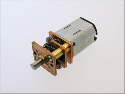 RA12Mini50 Getriebemotor 6V 50U/min 25x12x10mm Welle 3mm