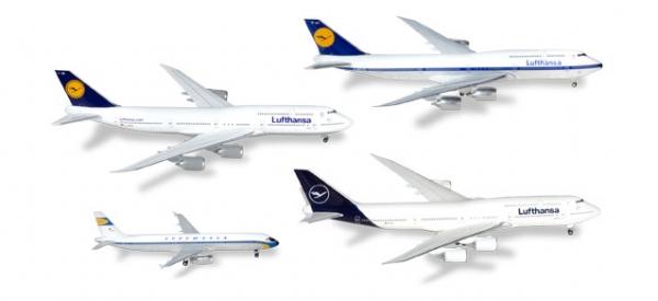 Lufthansa 4er-Set 2018