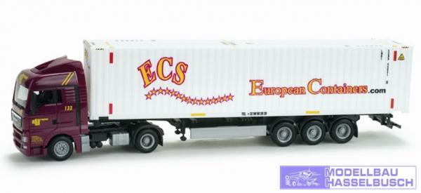 """MAN TGX XLX Container-Sattelzug """"ECS"""""""