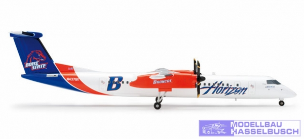 Q400 Horizon Boise State Bron