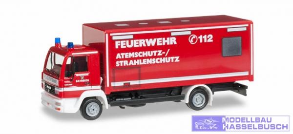 MAN L 2000 Koffer-LKW Feuerwehr Bayreuth