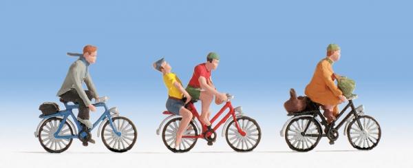 Spur H0 Fahrradfahrer