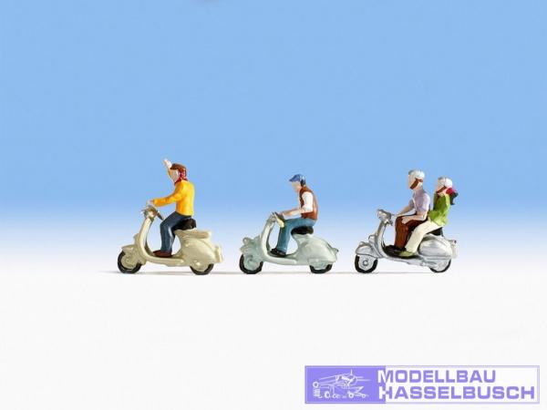 Motorrollerfahrer