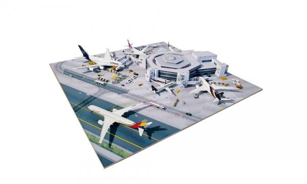 Frankfurt Airport T1 Hexagon - 1:500