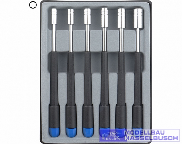 280-65 - Sechskant Steckschlüssel Set 6-tlg. 4,0 - 8,0 mm