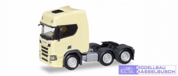 Scania CR HD 6x2 Zgm, hellgelb