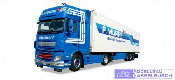 """DAF XF o 6 SSC Kühlkoffer-Sattelzug """"Murpf"""" (CH)"""