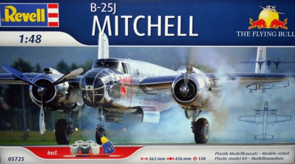 Revell B-25J Mitchell Flying Bulls in 1:48