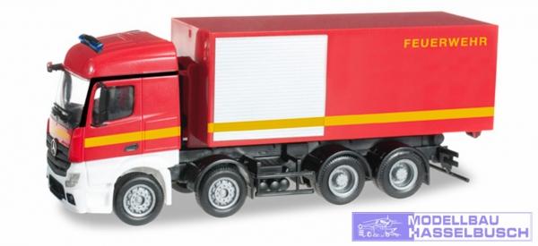 Mercedes-Benz Actros Streamspace 4-achs Abrollcontainer-LKW Feuerwehr