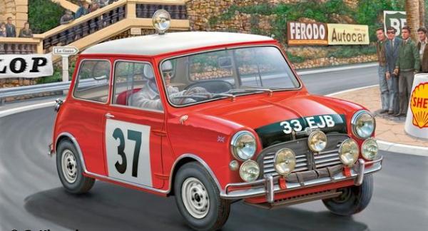 Mini Cooper Winner Rally Monte Carlo 1964