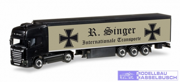 "Scania R 2013 TL Schubboden-Sattelzug ""Roland Singer"""
