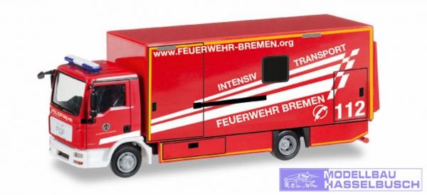 "MAN TGL Koffer-LKW Intensivtransport ""Feuerwehr Bremen"""