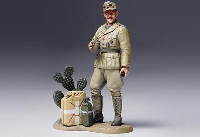 1:16 WWII Figur Dt. Panzersol