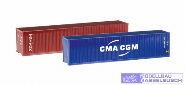 "Container-Set 2x40 ft. ""Triton / CMA/CGM"""