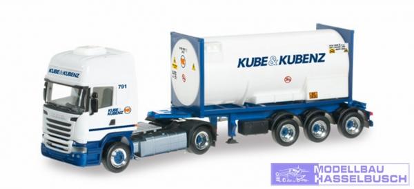 """Scania R 2013 HL Gascontainer-Sattelzug """"Kube & Kubenz"""""""