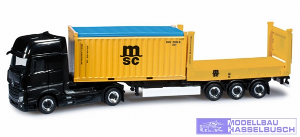 "Mercedes-Benz Actros Gigaspace Container-Sattelzug ""MSC"""