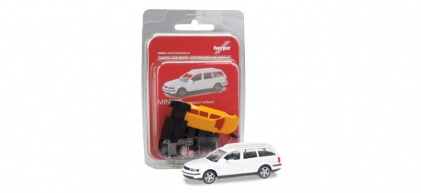 Herpa MiniKit: VW Passat Variant, weiß (Bausatz)