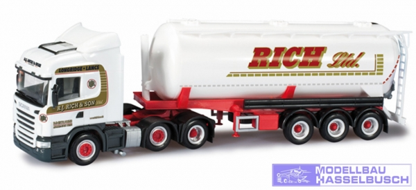 "Scania R HL Silo-Sattelzug ""R.J. Rich & Sohn Ltd."" (GB)"