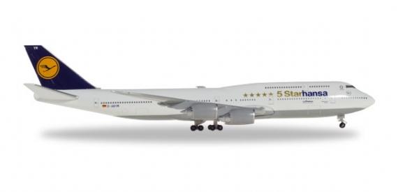 B747-8I Lufthansa Starhansa