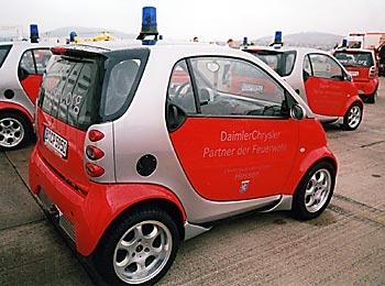 """Smart City Coupe """"Feuerwehr Schleswig Holstein"""""""
