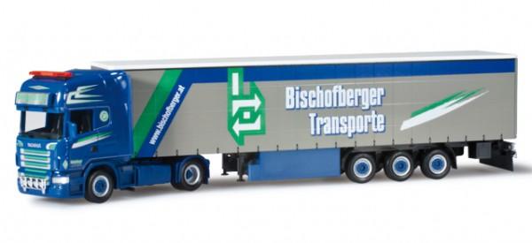"Scania R TL Gardinenplanen-Sattelzug ""Bischofberger"""