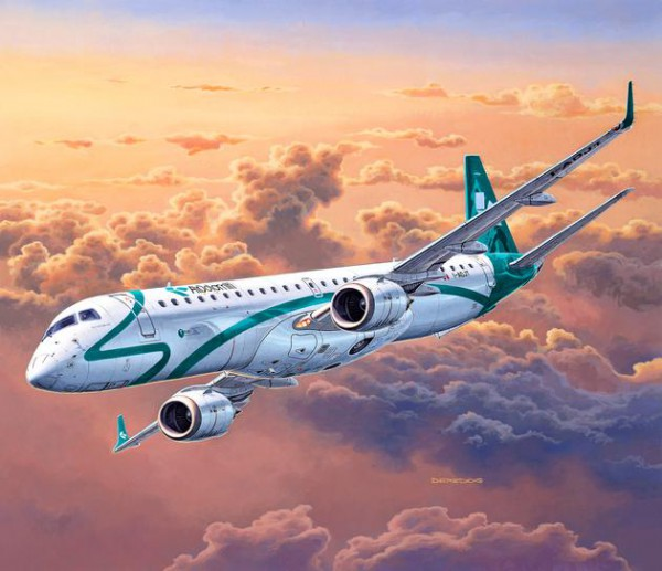 Revell Embraer 195 AIR DOLOMITI in 1:144