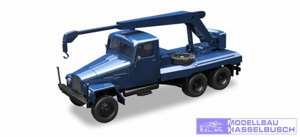 IFA G5 Kranfahrzeug blau