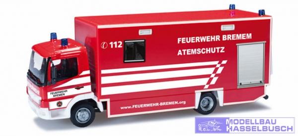 """Mercedes-Benz Atego Koffer-LKW mit Ladebordwand """"FW Bremen"""""""