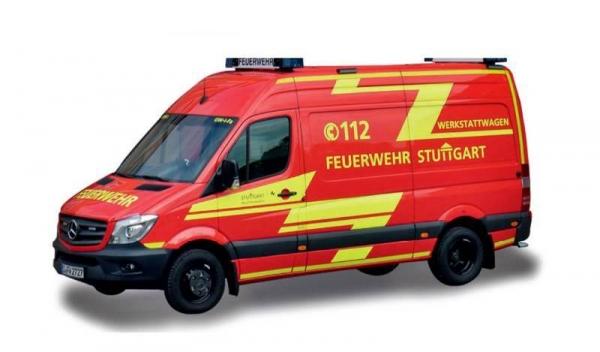 """MB Sprinter`13 Kasten HD, FW Stuttgart """"Werkstattwagen"""""""